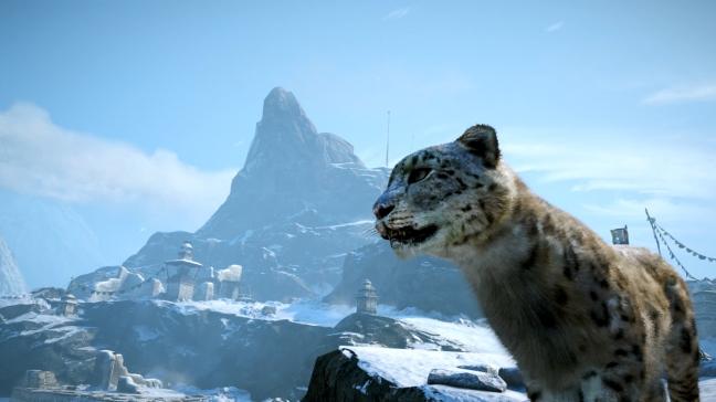 snöleopard far cry 4