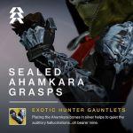 sealed ahamkara destiny taken king