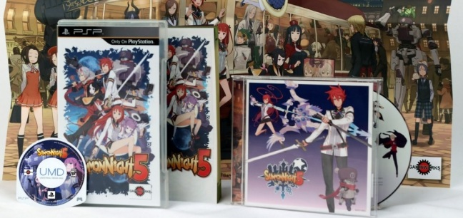 summon night 5 umd