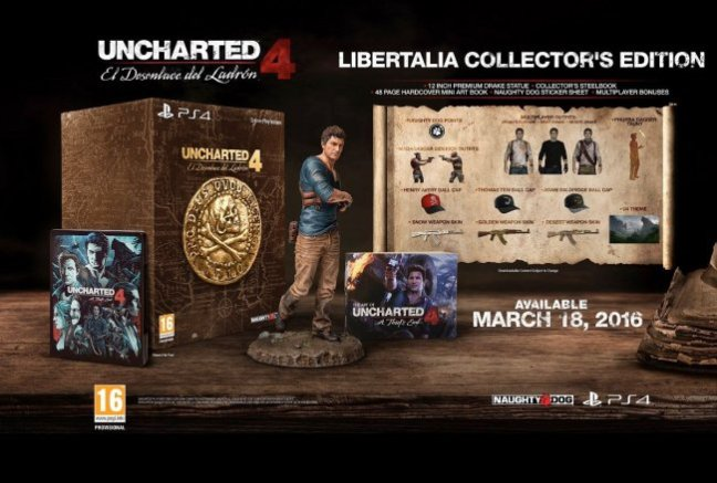 uncharted 4 libertalia collectors edition