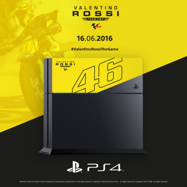 valentiono rossi ps4 limiterad