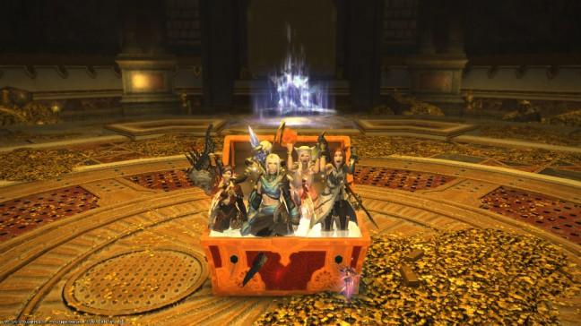 ffxiv revenge of the horde ps4