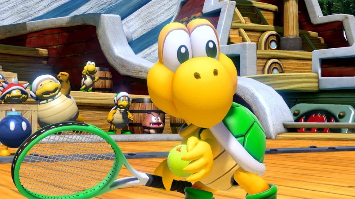 Nintendo visar Koopa Troopa och Blooper i Mario Tennis Aces