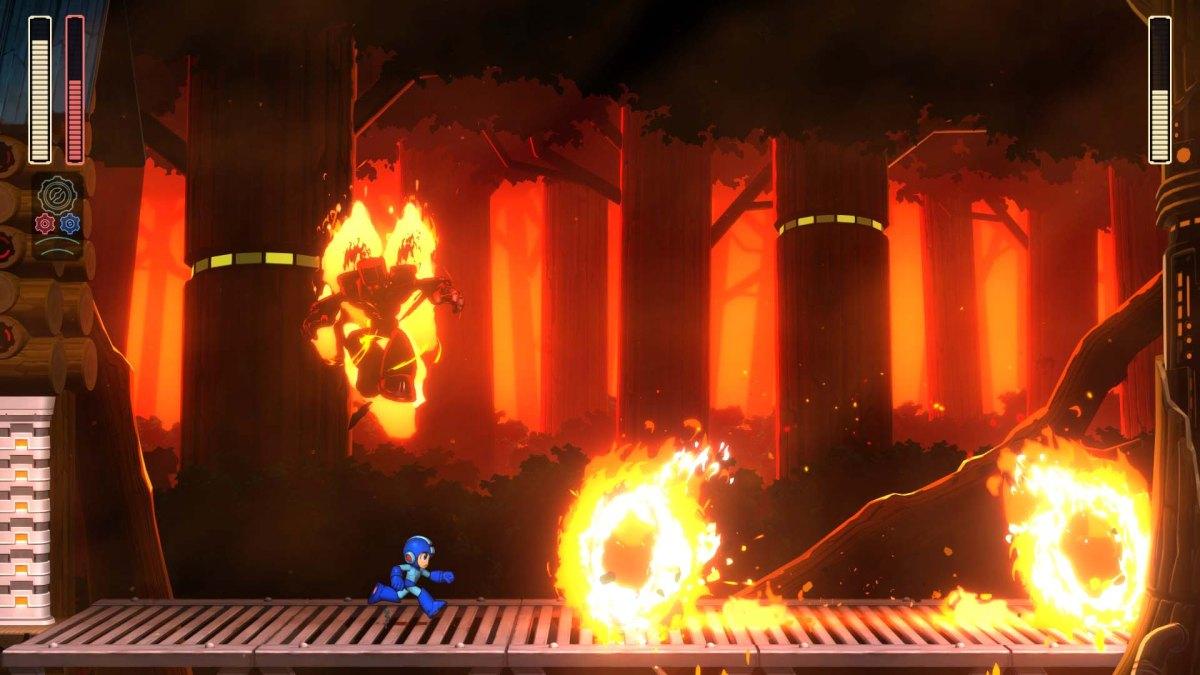 Eldig trailer för Mega Man 11 - bosstrid med Torch Man