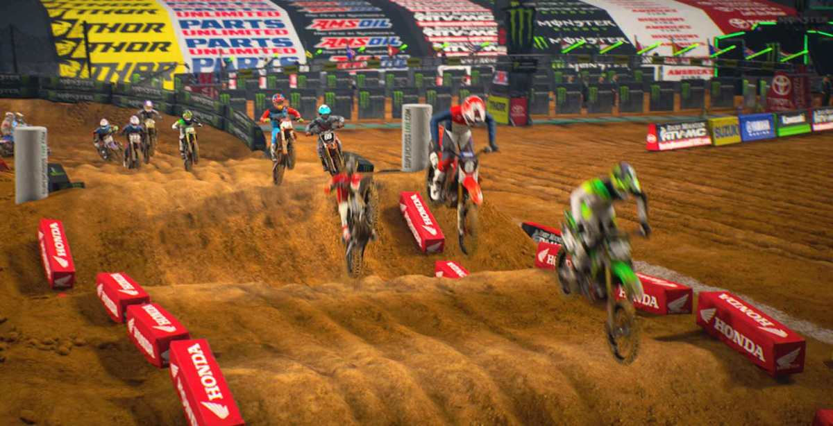 Recension: Monster Energy Supercross - The Official Videogame 2